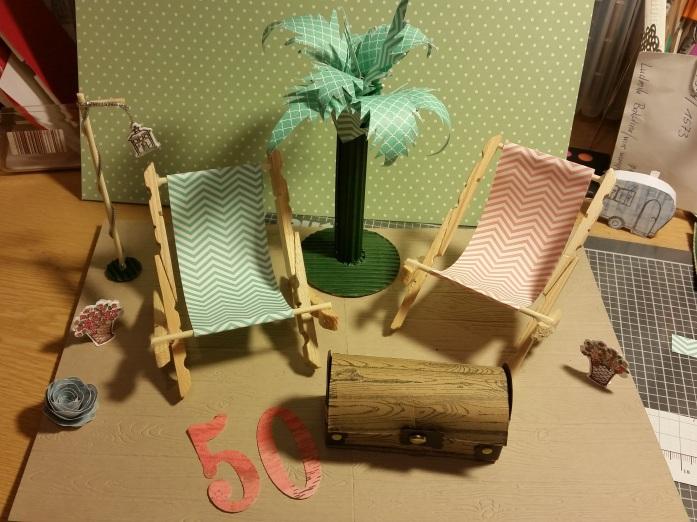 Miniatur Liegestuhl Basteln.Liegestuhl Aus Wäscheklammern Stempelkreativ